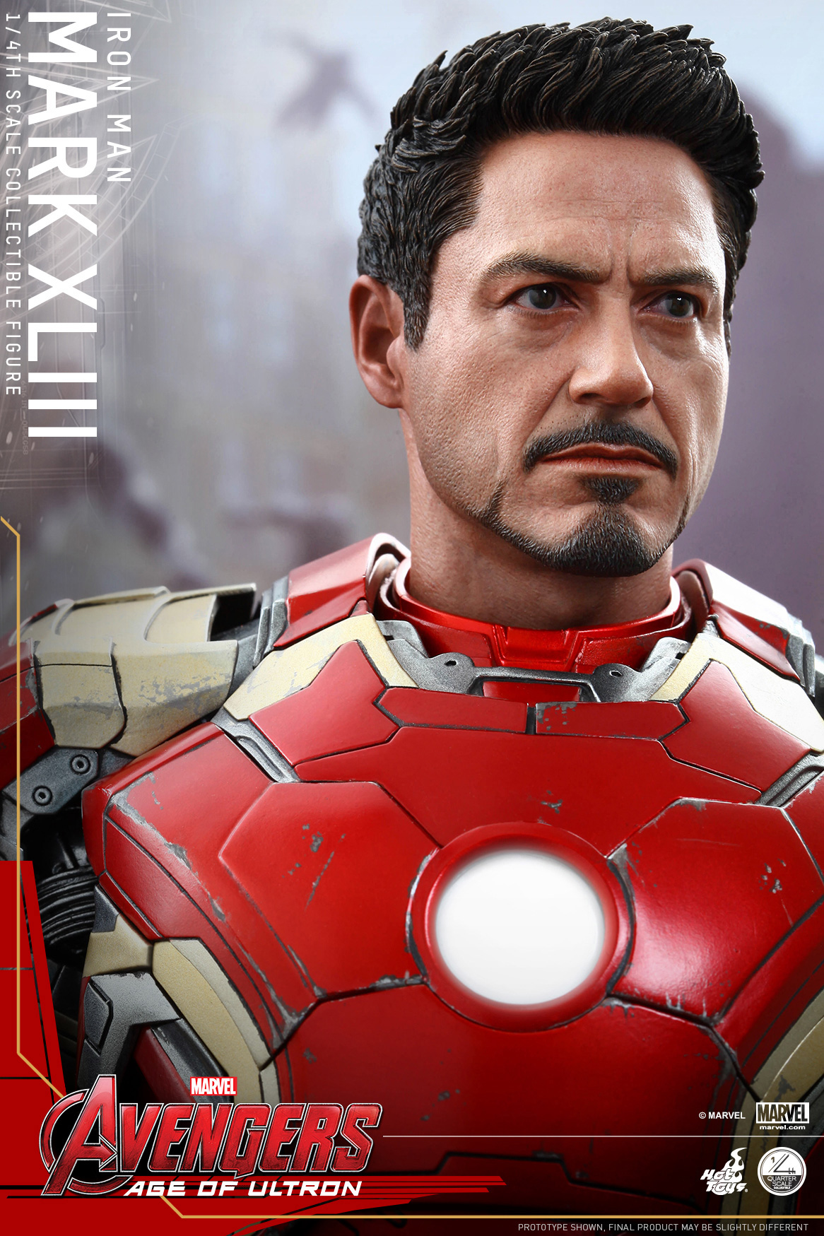 1/4 Hot Toys - QS005 - Avengers: AoU - Iron Man Mark 43