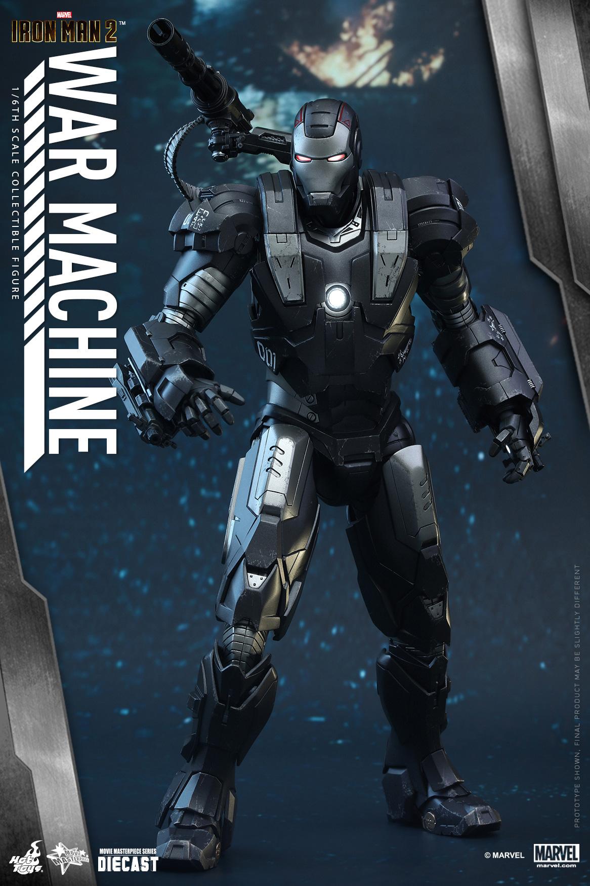 Latest Articles - Re: 1/6 DIECAST Iron Man 2 WAR MACHINE